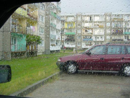 Regen, Ostpreussen, die beste aller Ehefrauen beim Zahnarzt
