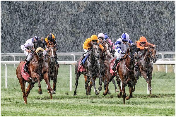 Regen-Rennen !