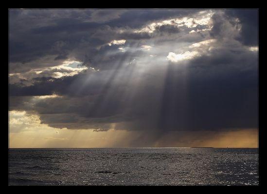 Regen und Sturm gibt es immer...