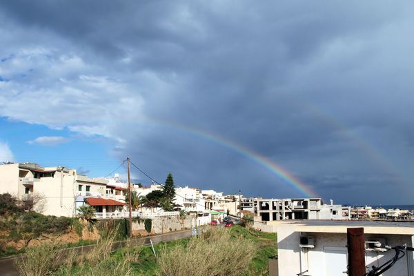 Regenbögen auf Kreta