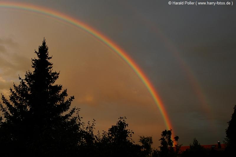 Regenbogen 08.08.08 20:15 Uhr