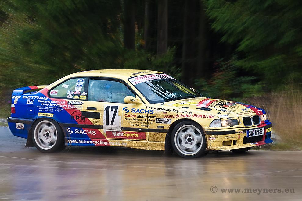 Regenbogen ...   (14. ADAC Rallye Bad Emstal, 10.10.2009)