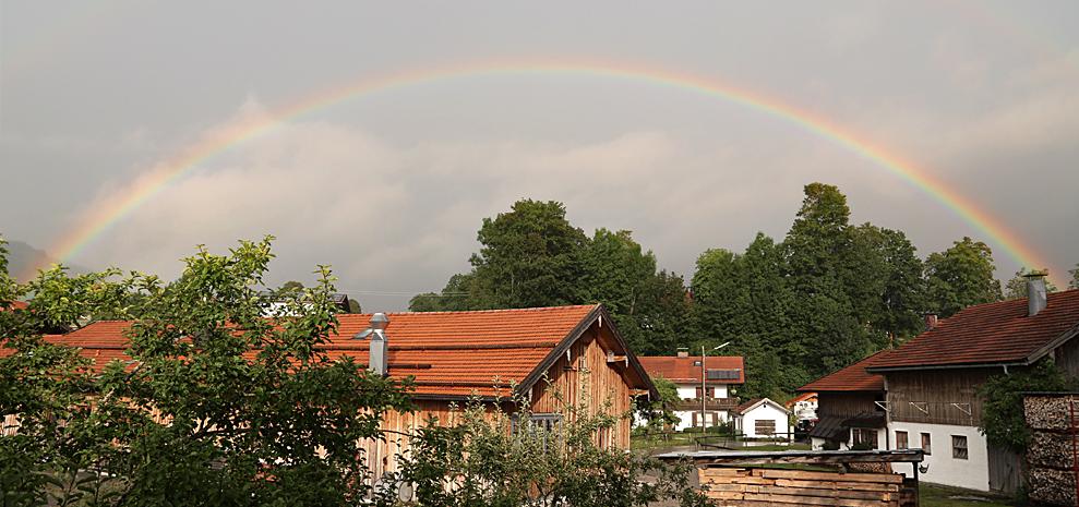 Regenbogen 180°