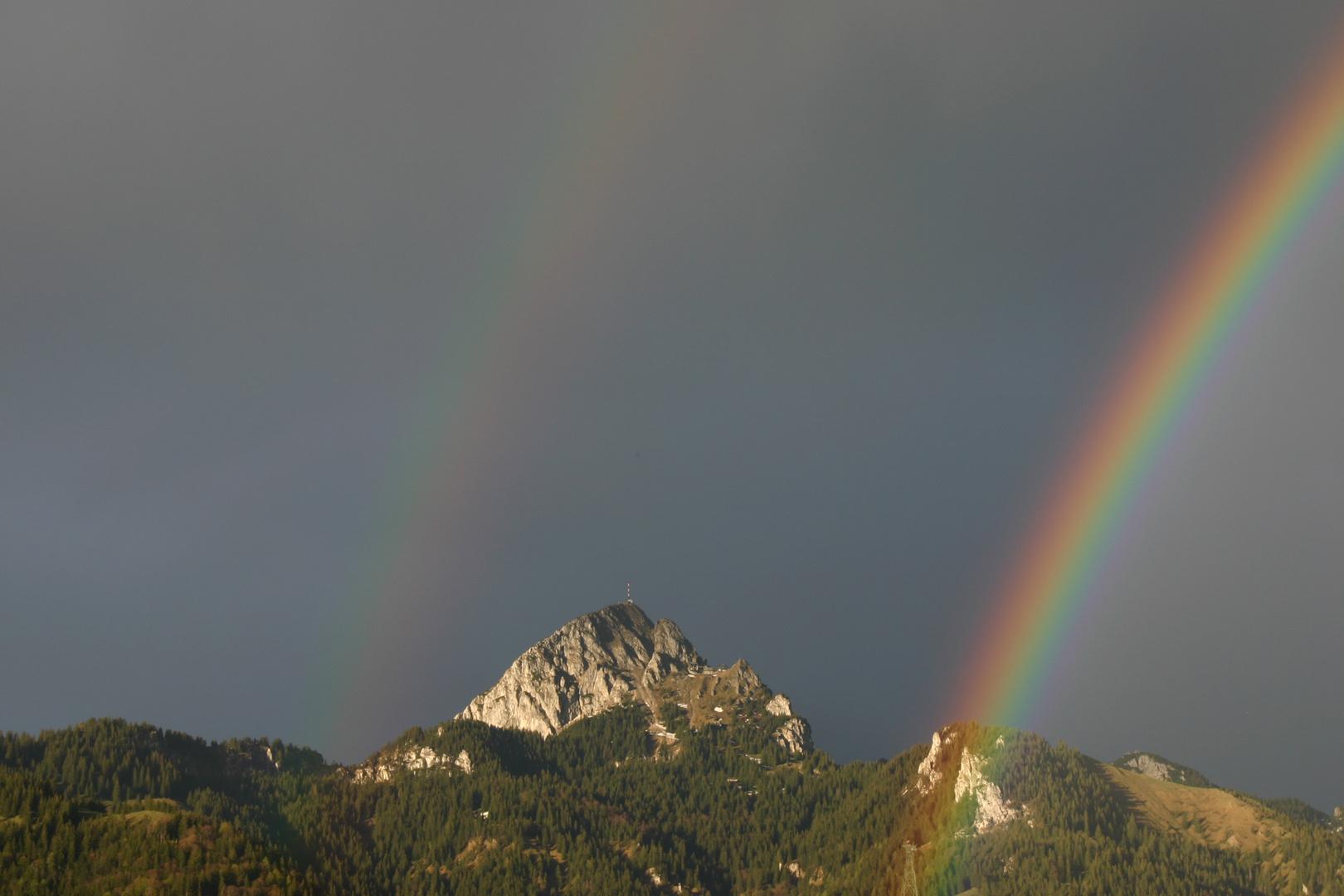 Regenbogen am Wendelstein/Obb.