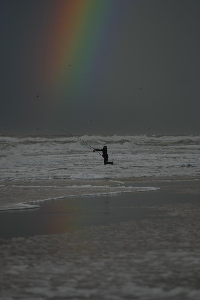 Regenbogen angeln ...