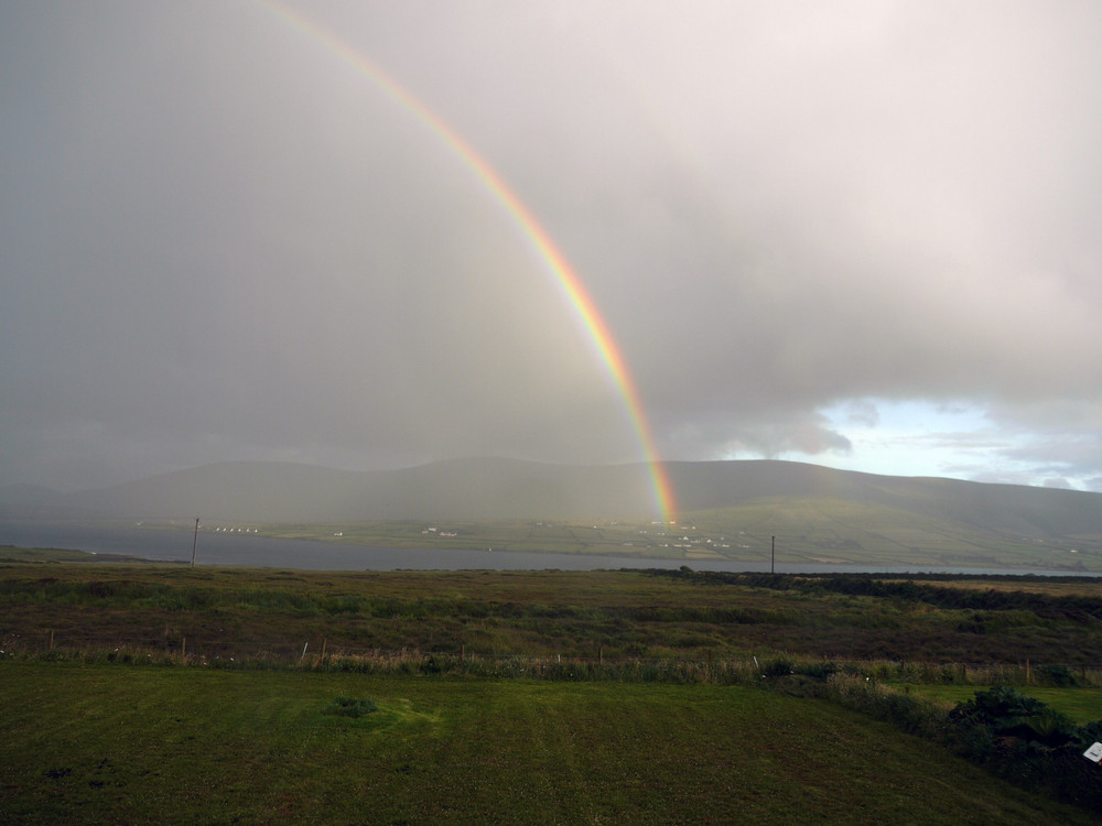 Regenbogen auf Valentia Island