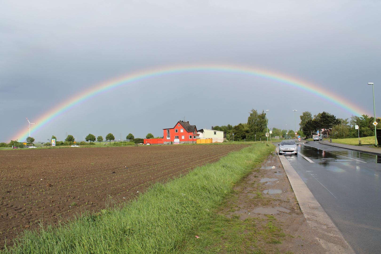 Regenbogen bei Langerwehe