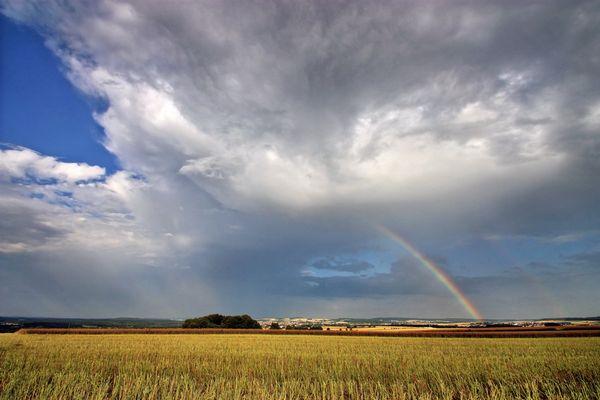 Regenbogen bei Lützelinden