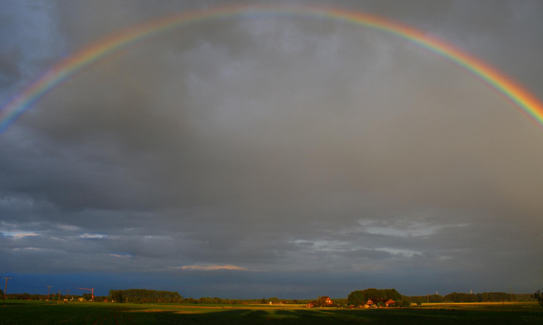 Regenbogen die 2te....