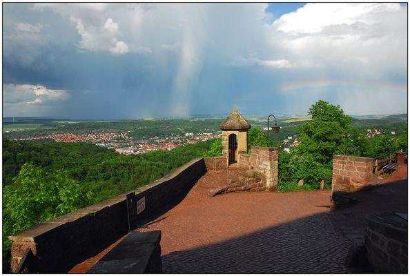 Regenbogen, Eisenach