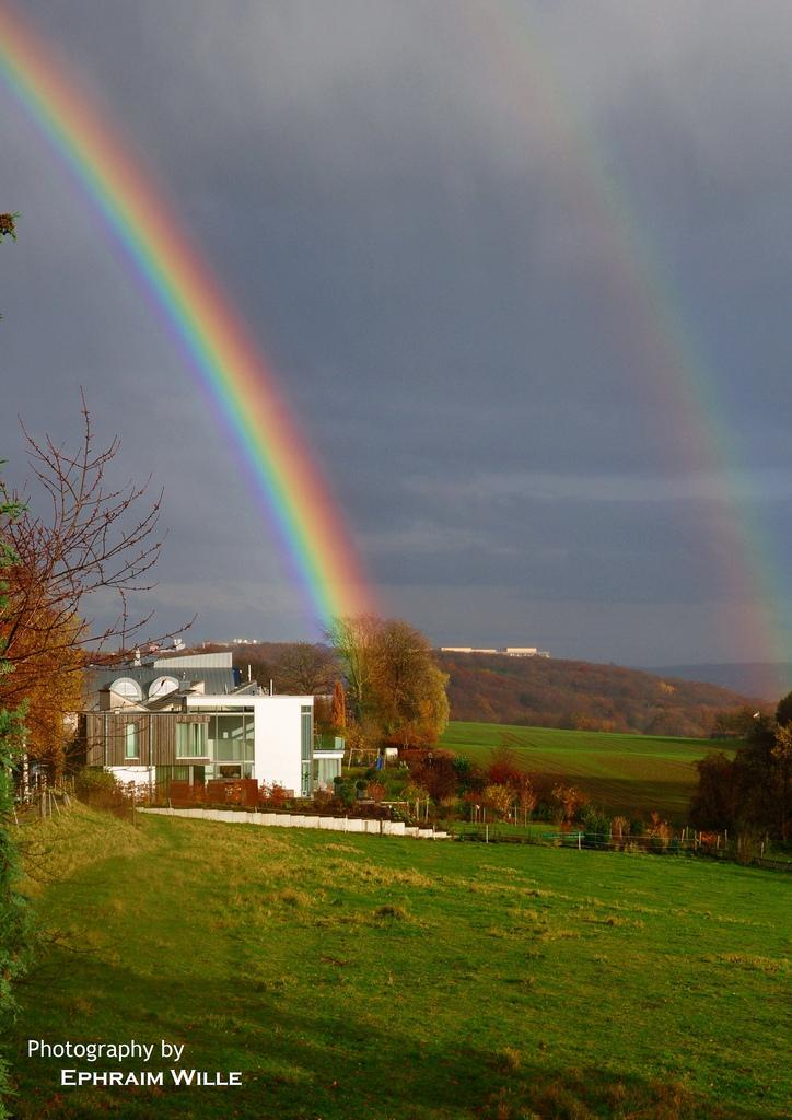 Regenbogen ganz nah