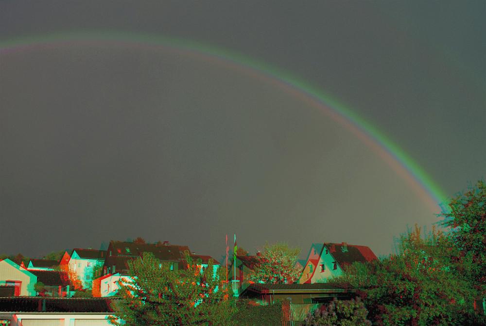 Regenbogen in 3D