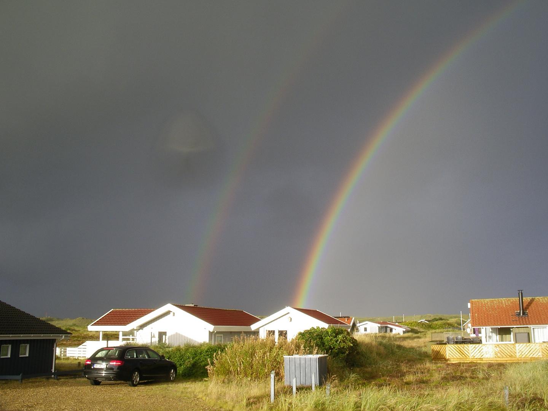 Regenbogen in Dänemark