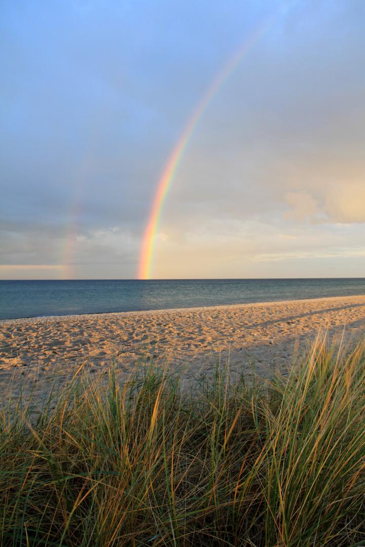 Regenbogen in der Ostsee