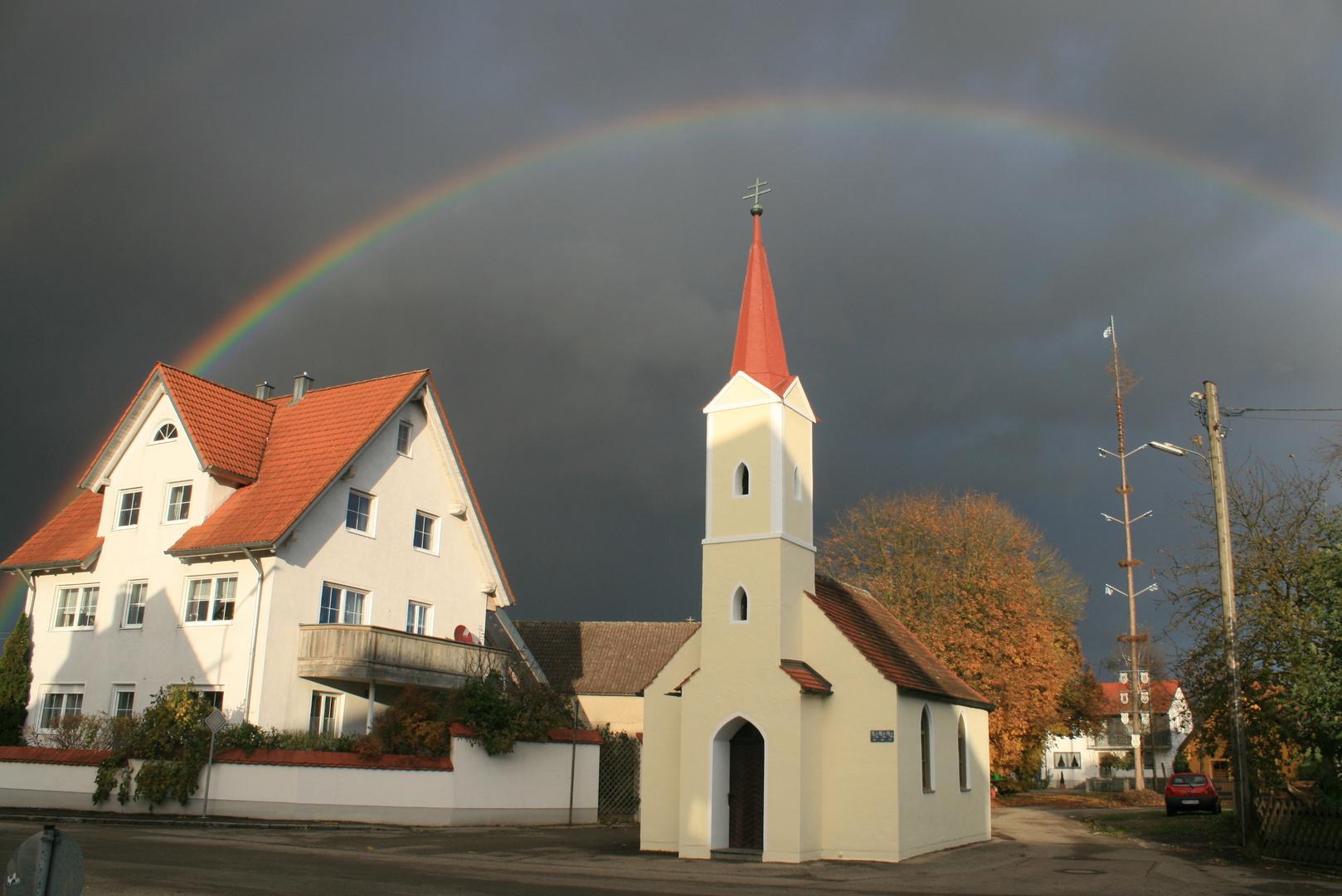 Regenbogen in Hartacker