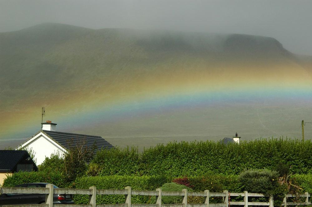 Regenbogen in Irland 2