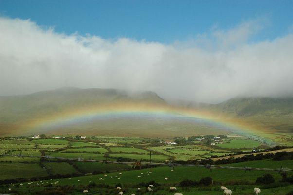 Regenbogen in Irland