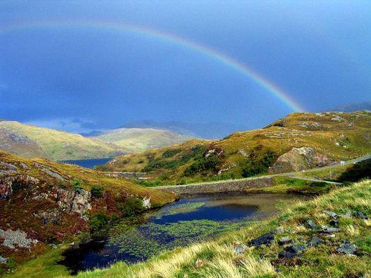 Regenbogen in Schotland