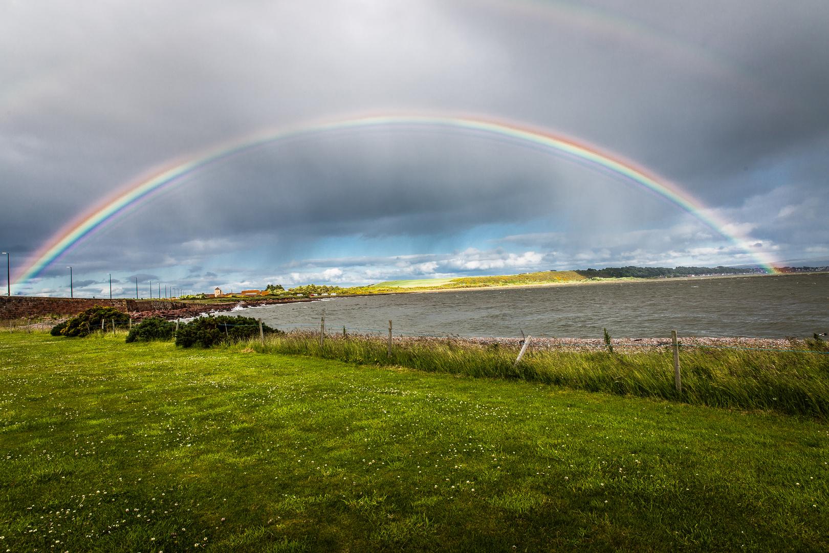 Regenbogen in Schottland