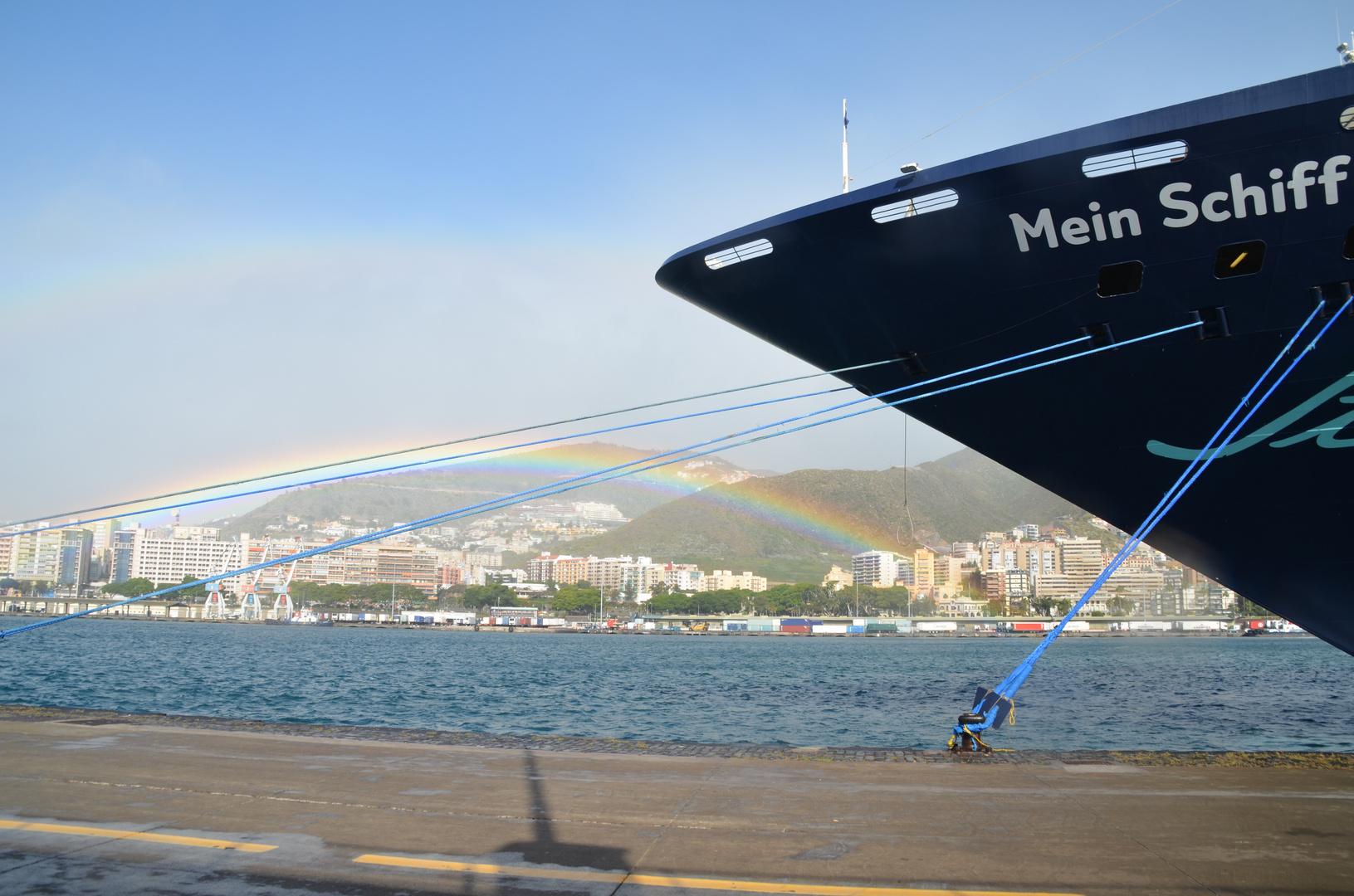 Regenbogen in Teneriffa