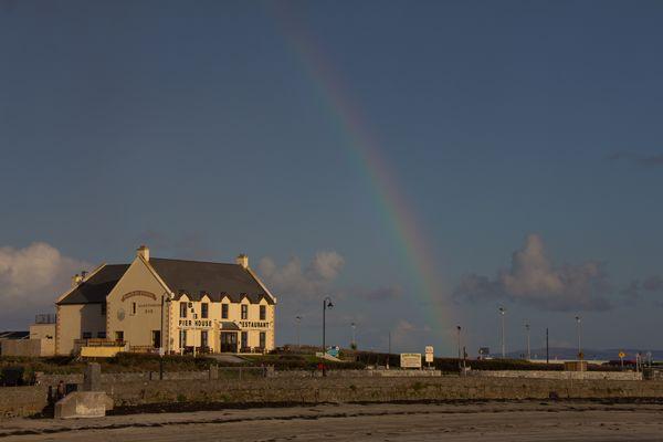 Regenbogen Inis Mór, Aran Islands, Ireland