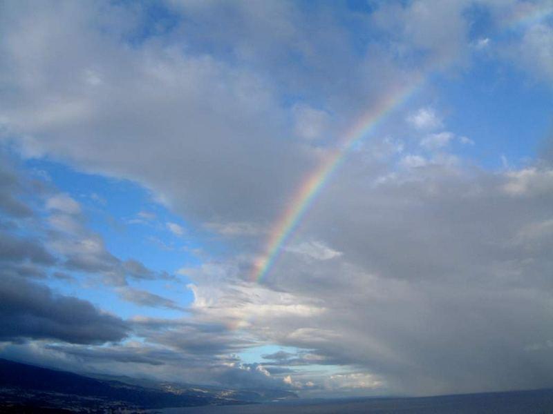 Regenbogen mit Style