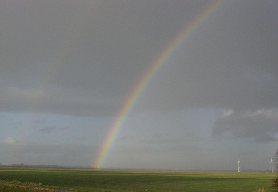 Regenbogen - Nicht Foto des Tages-würdig