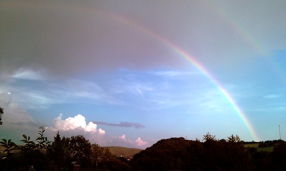 Regenbogen-Panomara rechts