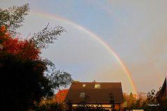 Regenbogen rechte Seite am 19.11.2017