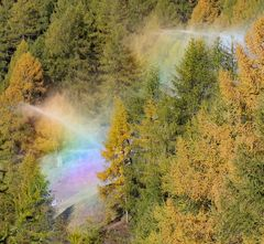 Regenbogen selbst gemacht :-)