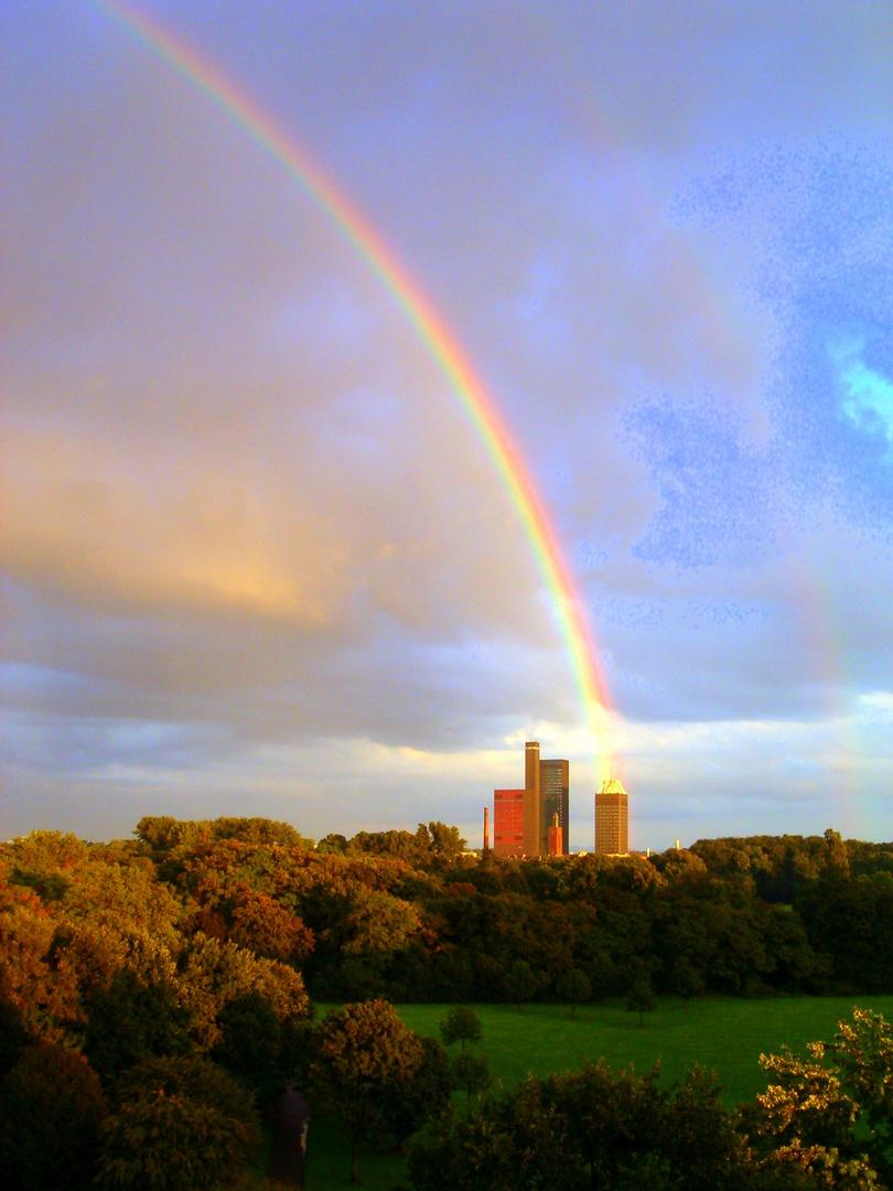 Regenbogen trifft Deutschlandfunk