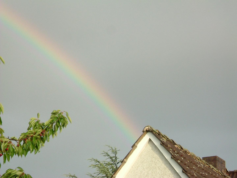 Regenbogen über Altenhagen