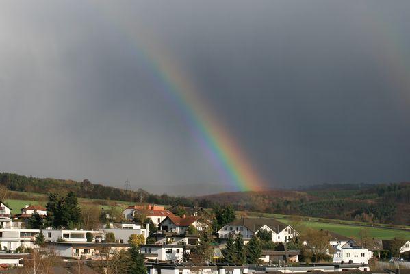 Regenbogen über Bad Camberg...