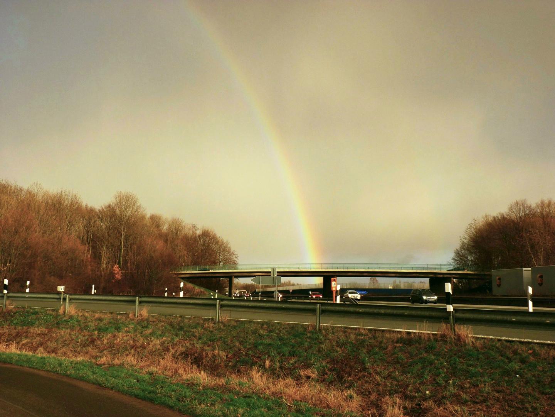 Regenbogen über Gohfeld