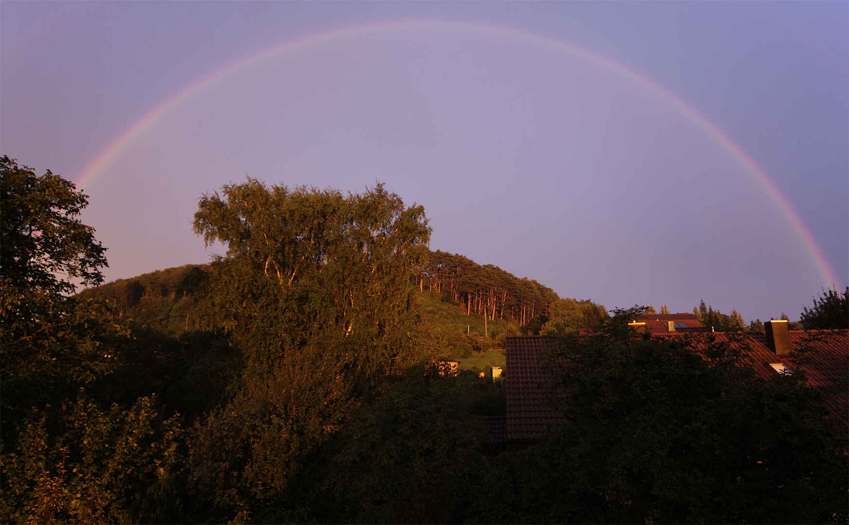 regenbogen überm stettberg