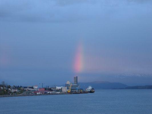Regenbogen, wo ist Dein Ziel?