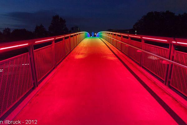 Regenbogenbrücke / Dortmund