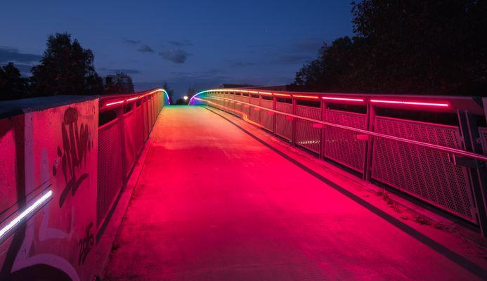 Regenbogenbrücke in DO