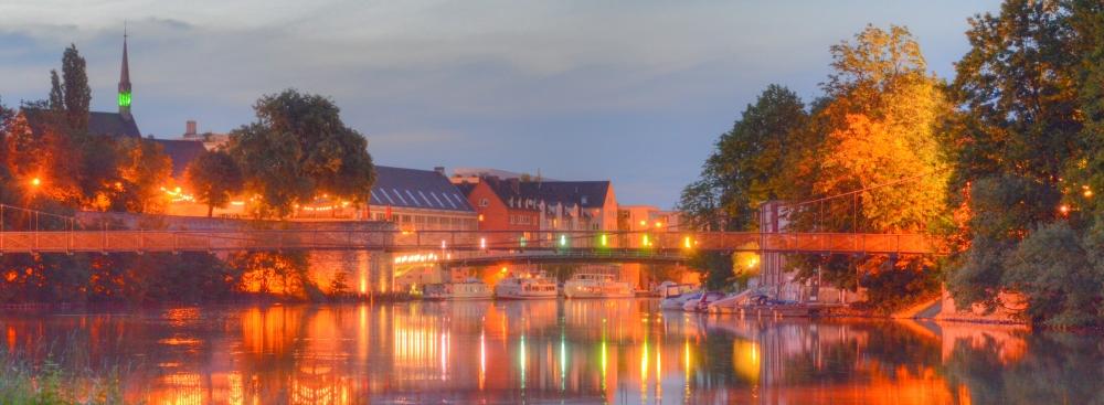 Regenbogenbrücke Kassel HDR