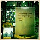 Regenfälle und Buchhandlungen