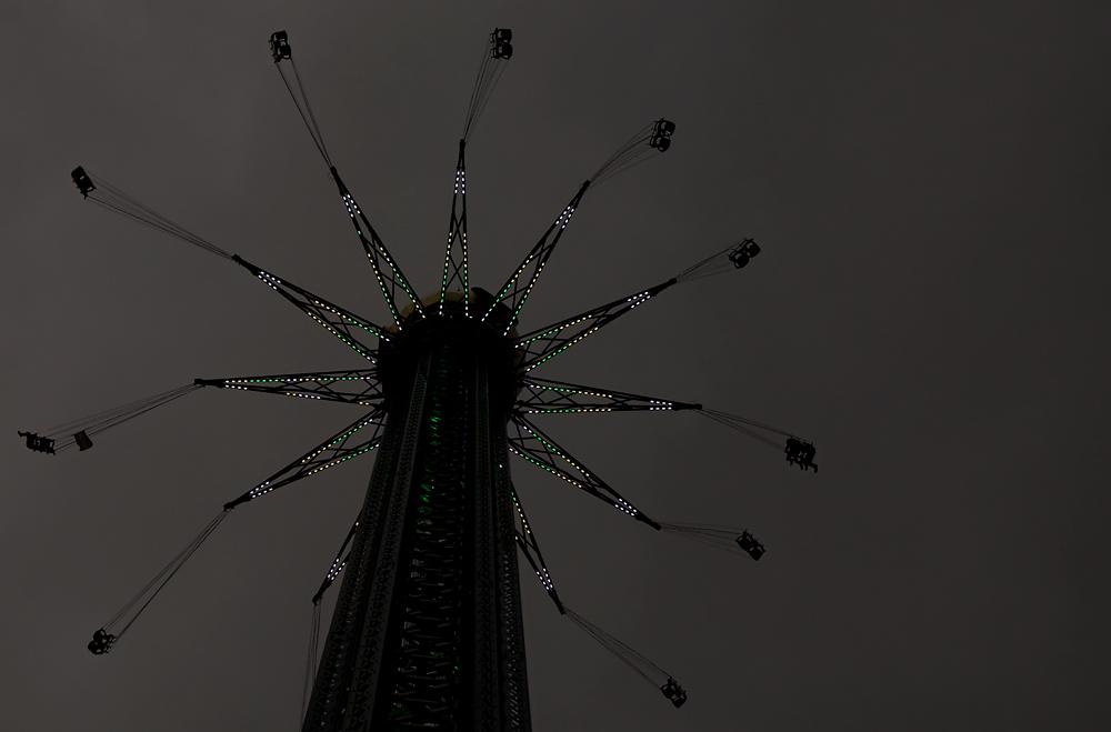 Regenfront über Ringelreien