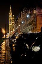 Regennacht in Wien