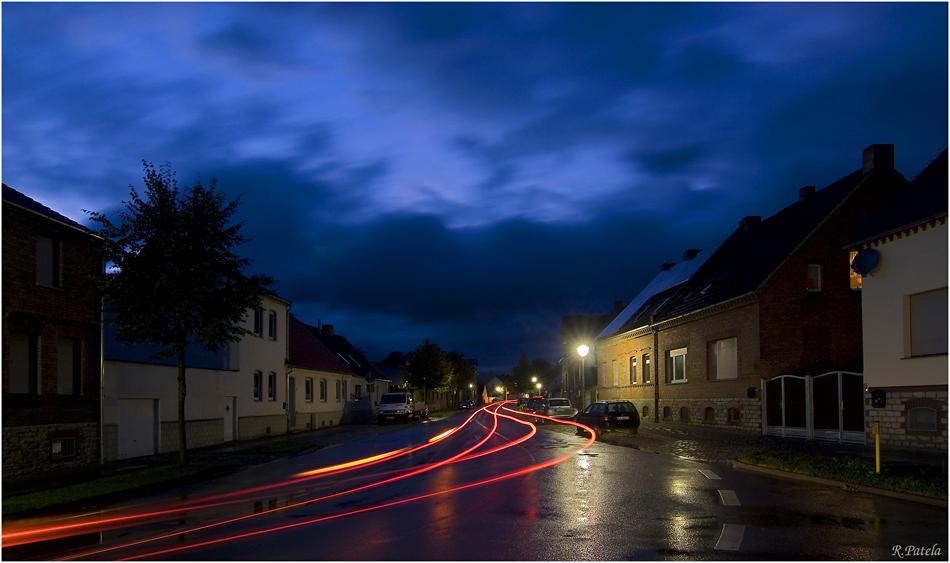 Regenpause in Westeregeln...