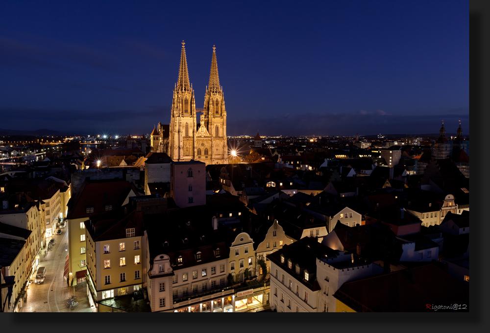 Regensburg - auf´s Dach gestiegen