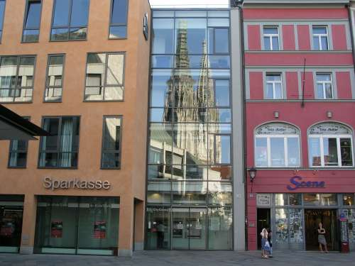 Regensburg Dom - Fenstersicht