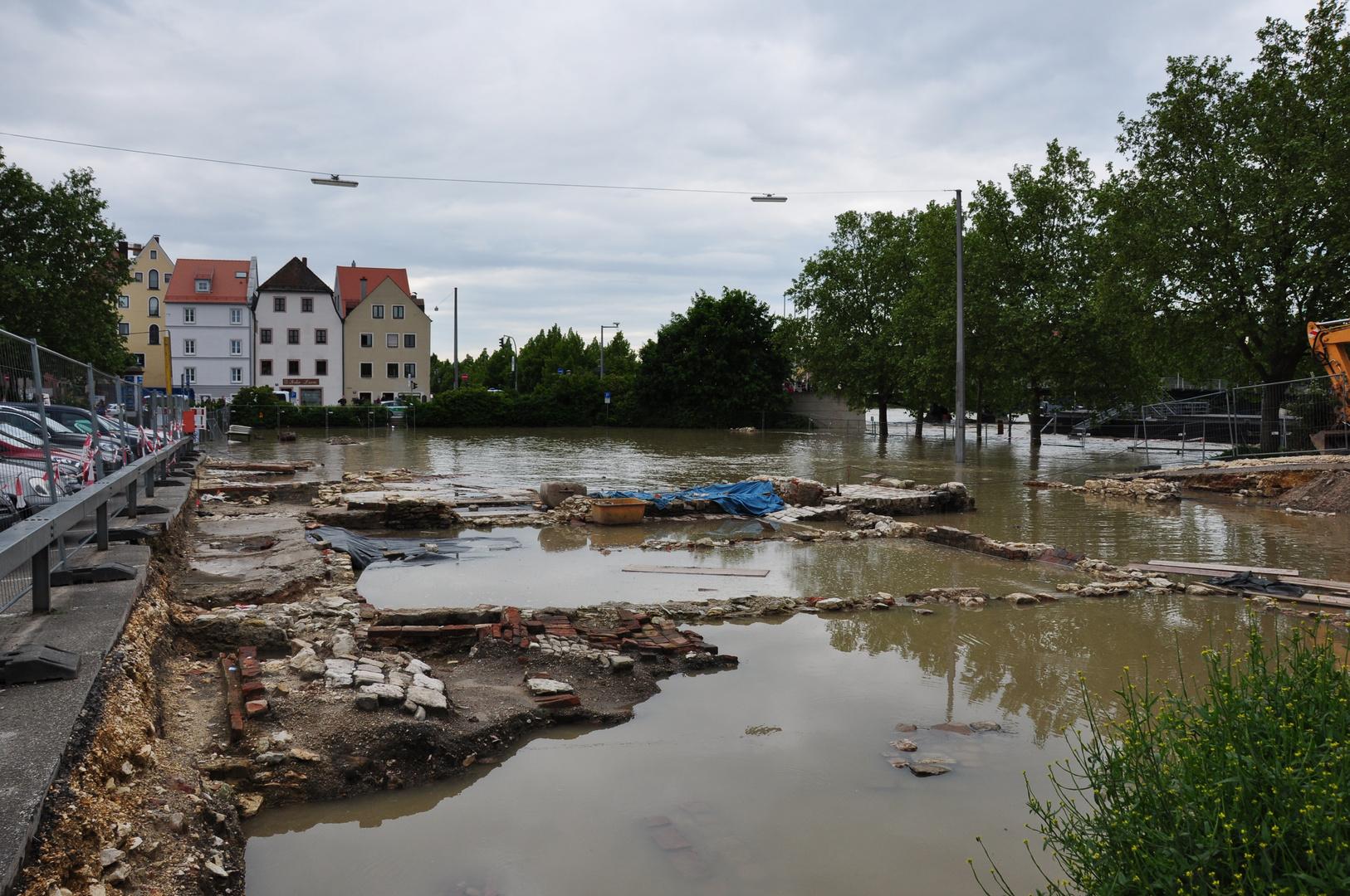 Regensburg Hochwasser 2013
