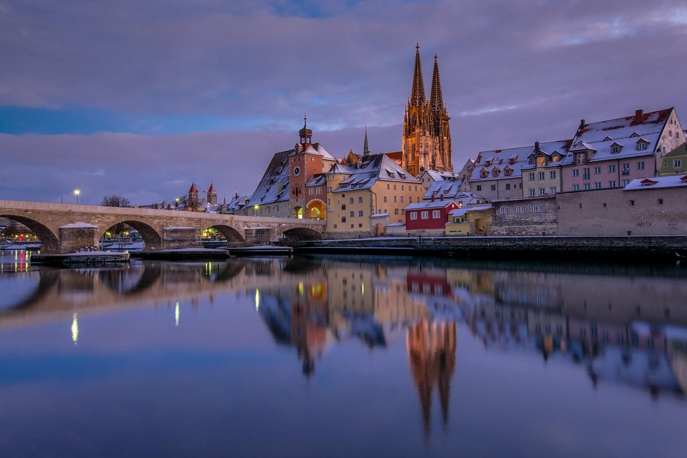 Regensburg Winter