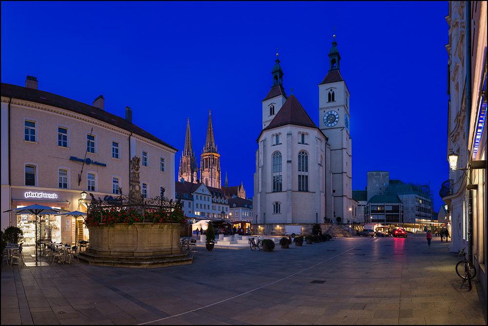Regensburg - Neupfarrplatz