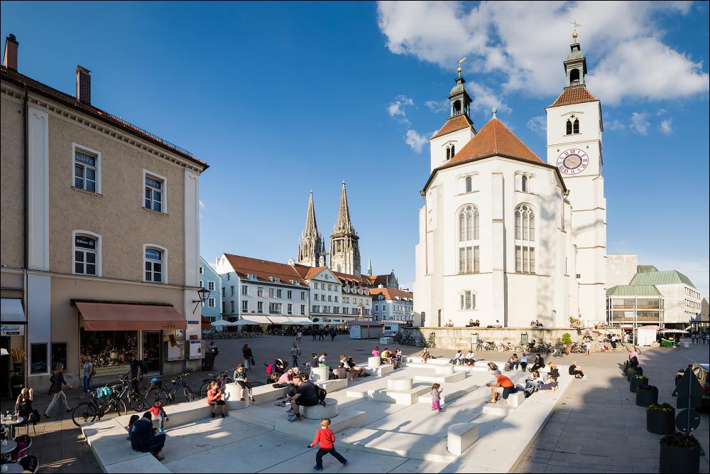 Regensburg - Neupfarrplatz * Reload