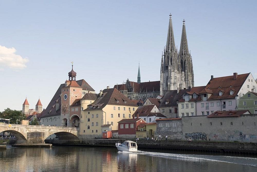 Regensburg - Stadtansicht